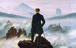 Bild Wanderer im Nebelmeer